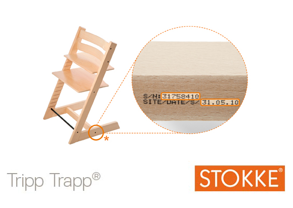 Stokke Tripp Trapp Manufacture Date and Serial Number | How to Buy a Used Stokke Tripp Trapp Chair